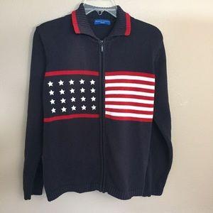 Patriotic Sweater by Karen Scott Sport size XL